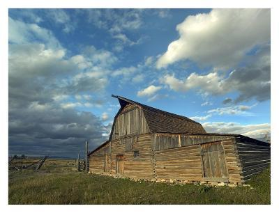 Mormon Row Barn, Grand Teton National Park, Wyoming