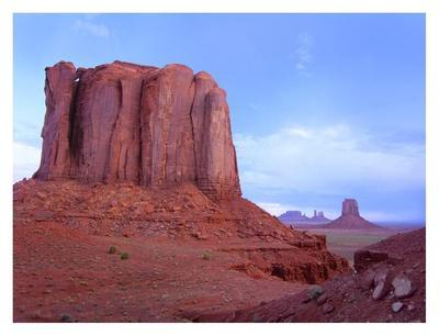 Elephant Butte from North Window viewpoint, Monument Valley, Arizona
