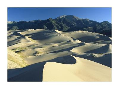 Sangre de Cristo Mountains at Great Sand Dunes National Monument, Colorado
