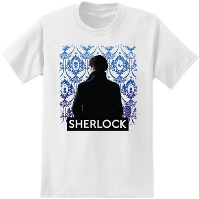 Sherlock - Portrait With Wallpaper