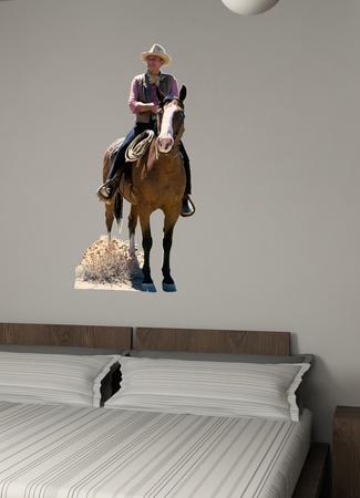 John Wayne on Horse