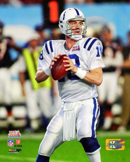 31dfdceb0 Peyton Manning Super Bowl XLI Action Photo at AllPosters.com