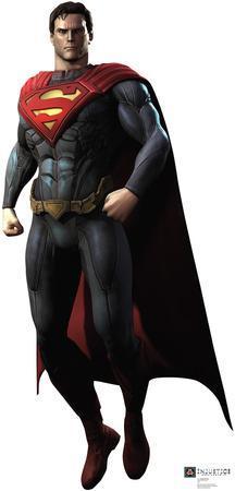 Superman - Injustice DC Comics Game Lifesize Standup