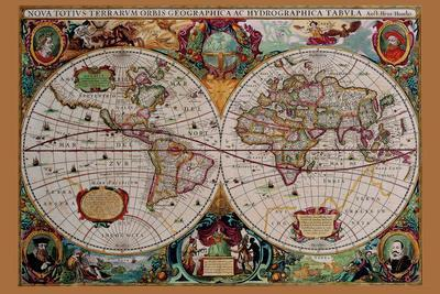 Classical World Map