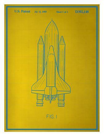 Space Shuttle Blueprint