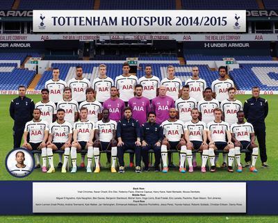 Tottenham Team 14/15