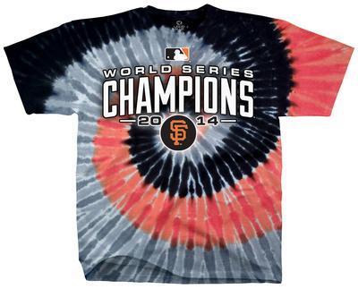 MLB: San Francisco Giants - 2014 World Series Champions Spiral Dye