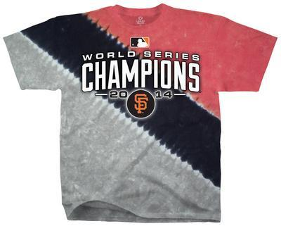 MLB: San Francisco Giants - 2014 World Series Champions Color Block