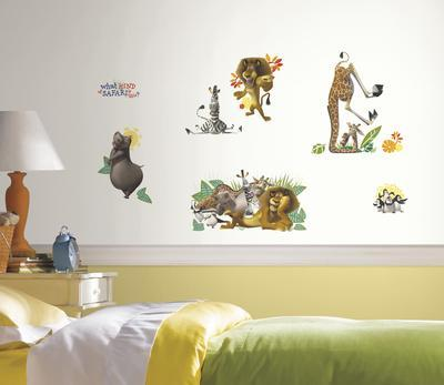 Madagascar Peel and Stick Wall Decals