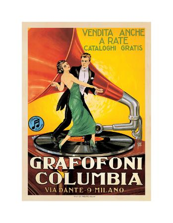 Grafofoni Columbia, 1920