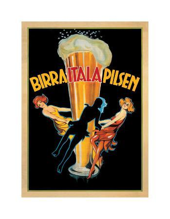 Birra Itala Pilsen 1920 Ca.