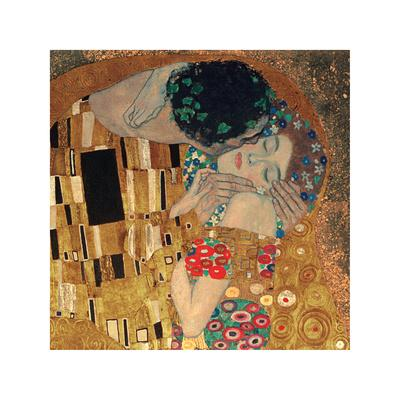 The Kiss, c.1907 (detail)