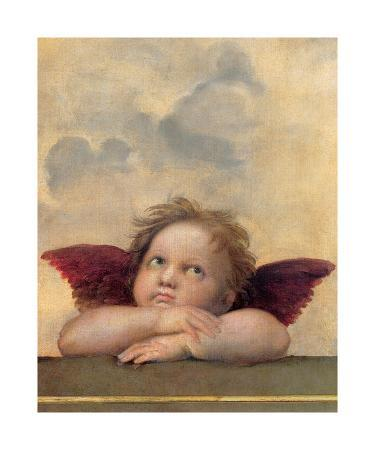 Detail of the Sistine Madonna, c.1514