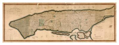 New York and the Island of Manhattan, 1812