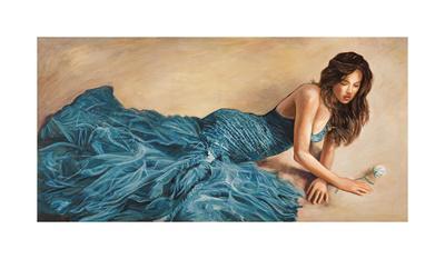 Donna in Blu