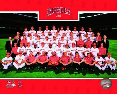 Los Angeles Angels 2014 Team Photo