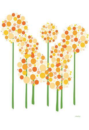 Orange Alliums