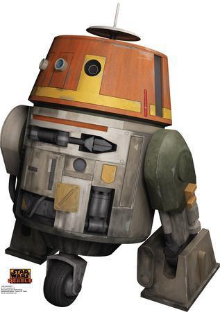 Star Wars Rebels - Chopper Lifesize Standup