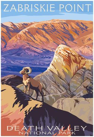 zabriskie point death valley national park posters at allposters com