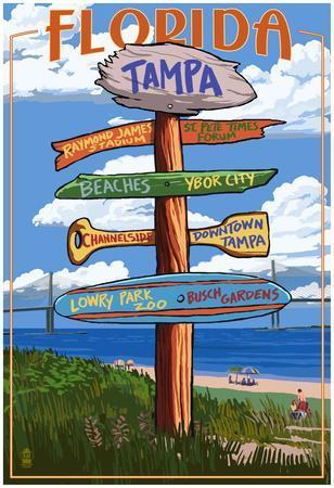 Tampa, Florida - Sign Destinations