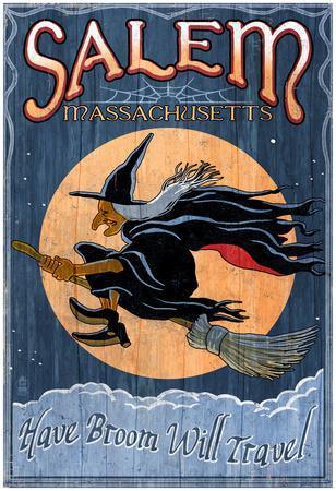 Salem, Massachusetts - Witch