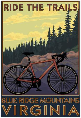 Blue Ridge Mountains, Virginia - Ride The Trails