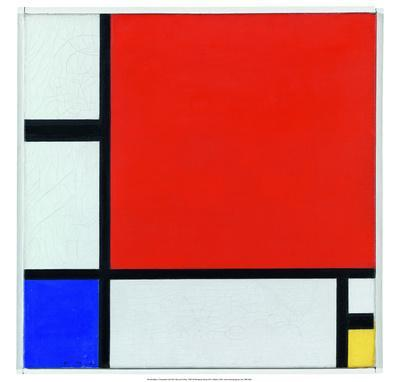 Composition with Red, Blue and Yellow, 1930