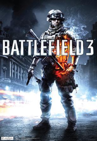 Battlefield 3 Video Game Poster