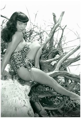 Bettie Page Beach Bettie Pin-Up