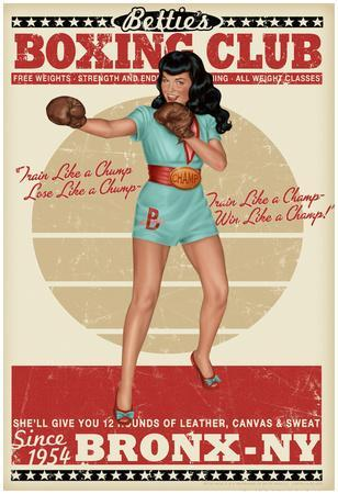 Bettie Page Boxing Club
