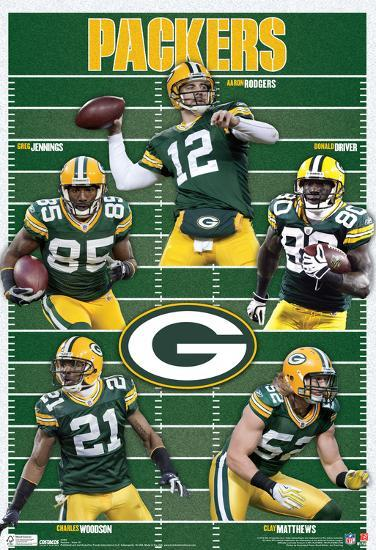 d5502d019ce Green Bay Packers Team Sports Poster Print at AllPosters.com