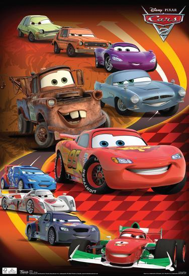 Cars 2 Group Movie Poster Posters Allposters Com