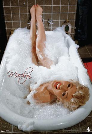 Marilyn Monroe Bubblebath Movie Poster