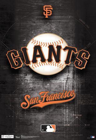 San Francisco Giants Logo Sports Poster