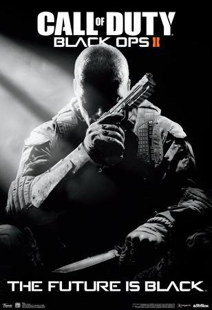 Call Of Duty Black Ops 2 Stealth Video Game Poster