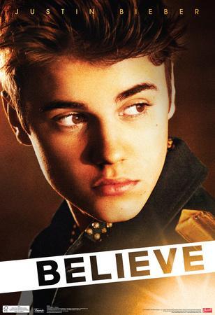 Justin Bieber Believe Music Poster