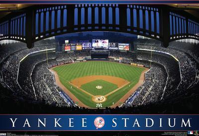 Yankee Stadium Mlb Sports Poster