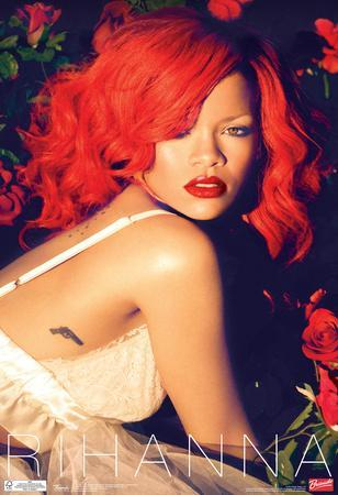 Rihanna Roses Music Poster