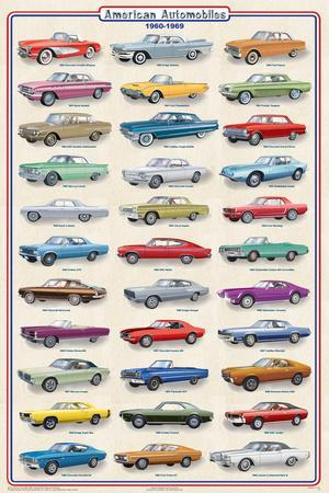 American Autos of 1960-1969