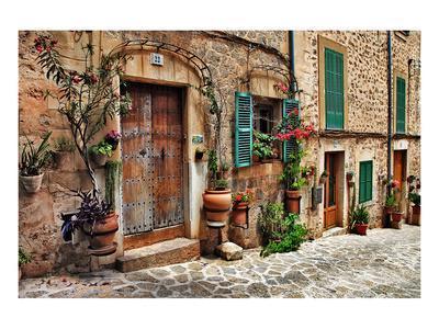 Old Mediterranean Towns Street