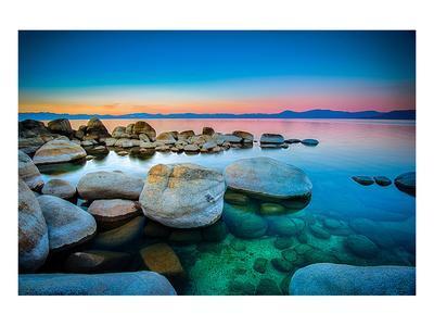 Rocks Lake Tahoe Sierra Nevada