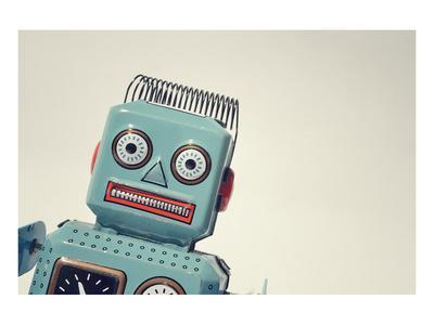 Vintage Tin Toy Robot II