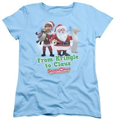 Womens: Santa Claus Is Comin To Town - Kringle To Claus