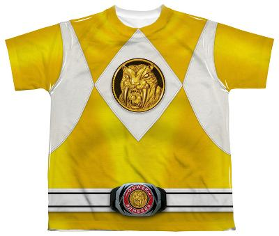 Youth: Power Rangers - Yellow Ranger Emblem