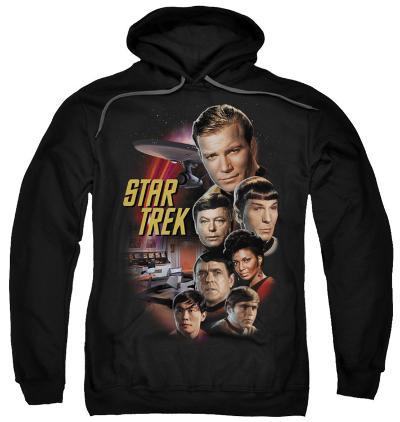 Hoodie: Star Trek - The Classic Crew