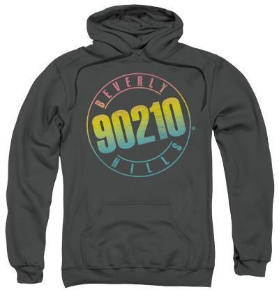 Hoodie: Beverly Hills 90210 - Color Blend Logo