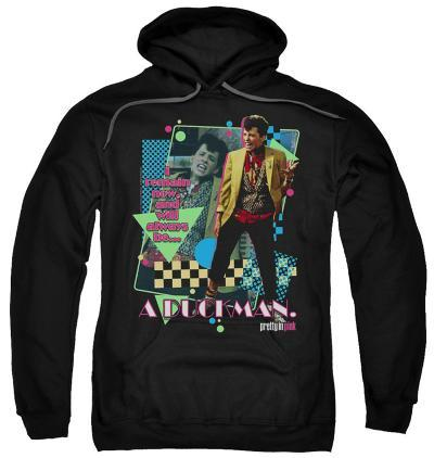Hoodie: Pretty In Pink - A Duckman