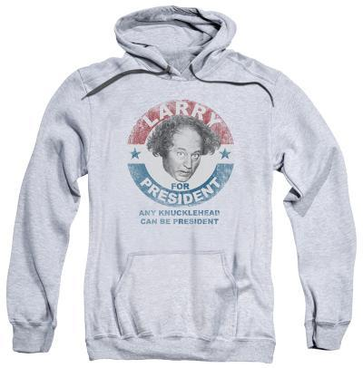 Hoodie: The Three Stooges - Larry For President