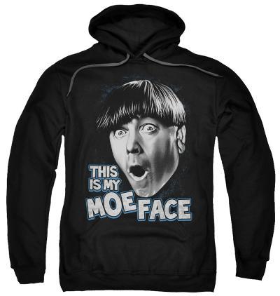 Hoodie: The Three Stooges - Moe Face