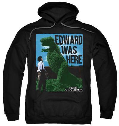 Hoodie: Edward Scissorhands - Edward Was Here